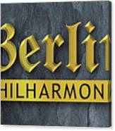 Berlin Philharmonic Canvas Print