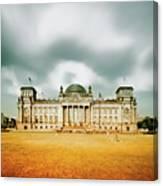 Berlin Reichstag Building Canvas Print