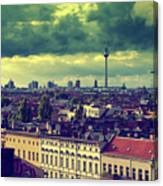 Berlin Roofscape Canvas Print