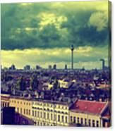 Berlin Skyline And Roofscape Canvas Print