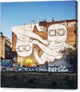 Berlin - Street Art Canvas Print