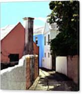 Bermuda Backstreet Canvas Print