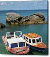 Bermuda Boats Canvas Print