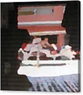 Bermuda Carriage Impressions Canvas Print