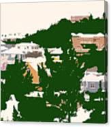Bermuda Neighborhood Canvas Print