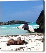 Bermuda On The Beach Canvas Print