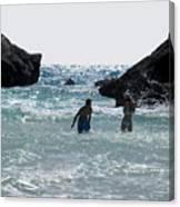 Bermuda Splash Canvas Print
