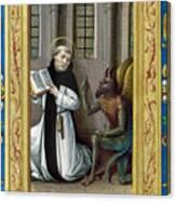 Bernard De Clairvaux Canvas Print