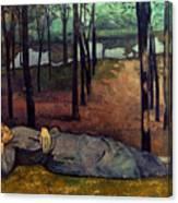 Bernard: Madeleine, 1888 Canvas Print