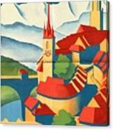 Berne Switzerland - Folded Canvas Print