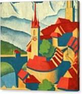 Berne Switzerland - Vintagelized Canvas Print