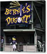 Bernies Dugout Canvas Print