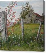 Berry Barn Canvas Print