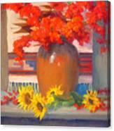 Berry Bouquet Canvas Print