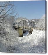Bert White Bridge Canvas Print