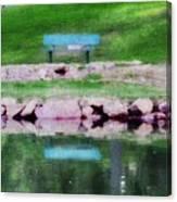 Beside Still Waters Canvas Print