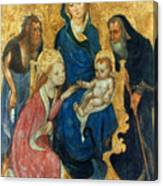 Besozzo: St. Catherine Canvas Print