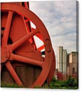 Bessemer Converter - Steel City - Pittsburgh Canvas Print