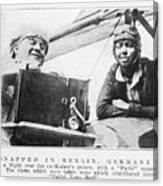 Bessie Coleman, Us Aviation Pioneer Canvas Print