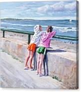 Best Friends Canvas Print