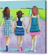 Best Friends Canvas Print