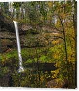 Best Of Silver Falls Canvas Print