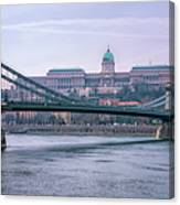 Best View Of Buda Castle Canvas Print