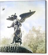 Bethesda Angel Canvas Print