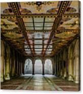 Bethesda Terrace Arcade 3 Canvas Print