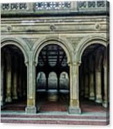 Bethesda Terrace Arcade 4 Canvas Print