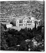 Bethlehem - Artas Convent Year 1900 To 1925 Canvas Print