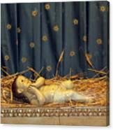 bethlehem - Baby Jesus  Canvas Print