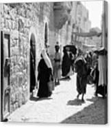 Bethlehem - Hard Working Woman Canvas Print