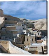 Bethlehem - Mar Saba Monstary 2010 Canvas Print