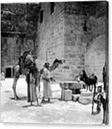 Bethlehem - Nativity Church 1920s Canvas Print
