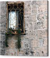 Bethlehem - Nativity Church Window Canvas Print