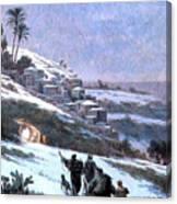 Bethlehem 1893 Canvas Print