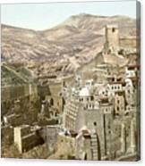 Bethlehem Mar Saba Monastery Canvas Print