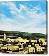 Bethlehem New Day Canvas Print