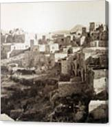Bethlehem Old Main Street Canvas Print