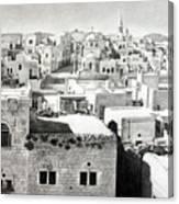 Bethlehem Old Town Canvas Print