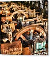 Bethlehem Steel Blower House Canvas Print