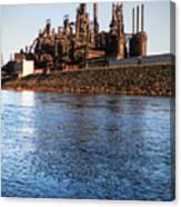 Bethlehem Steel Water's Edge Canvas Print