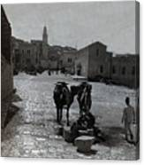 Bethlehem Street Scene 1911 Canvas Print