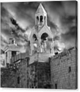 Bethlehem With Cloudy Sky Canvas Print