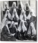 Bethlehem Women School 1900s Canvas Print