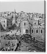 Bethlehem Year 1890 Canvas Print