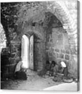 Bethlehemites Women Working Year 1925 Canvas Print