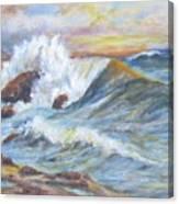 Beth's Sea Canvas Print