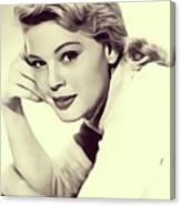 Betsy Palmer, Vintage Actress Canvas Print